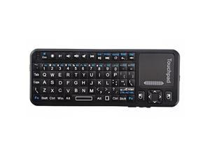Foxnovo   KP-810-10BTT Mini Wireless Bluetooth Keyboard & Mouse & Touchpad & Laser Pointer Combo (Black)