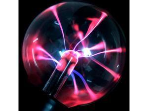 Foxnovo Desktop Magic Plasma Crystal Ball with Blue & Red Light for Costume Balls /Halloween /Decoration /Performances