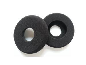 Foxnovo A Pair of Replacement Soft Foam Hollow Earpads Ear Pads Ear Cushions for GRADO SR60 /SR80 /SR125 /SR225 and Alessandro M1 /M2 (Black)