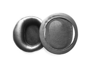 Foxnovo A Pair of Replacement Soft PU Foam Earpads Ear Pads Ear Cushions for Denon AH-D2000 AH-D5000 AH-D7000 Headphones (Black)