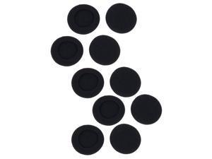 Foxnovo 5 Pairs of Replacement 50mm Soft Foam Headphones Ear Pads Ear Cushions for AKG K26P K24P K412P K416P K271P (Black)