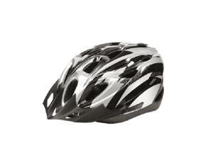 Foxnovo Cool style Ultra Lightweight High Rigidity Bicycle Cycling Helmet (Silver+Black)