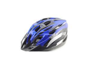 Foxnovo Cool style Ultra Lightweight High Rigidity Bicycle Cycling Helmet (Blue+Black)
