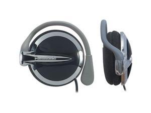 Panasonic RP-HS43 Clip-On Headphones with S Extra Bass System (Black) (Discontinued by Manufacturer)