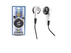 Panasonic RP-HV377-S In-Ear Earbud S-Path Design for hi-fi sound RPHV377 Silver