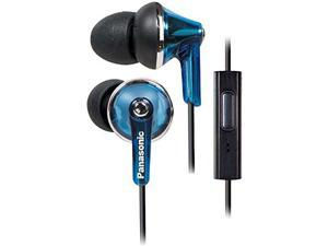 Earbud TCM190 Headphones with In-Line Remote - Blue