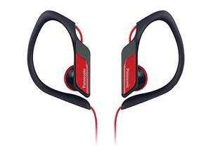 PANASONIC RP-HS34-R Sweat-Resistant Sports Earbuds (Red)