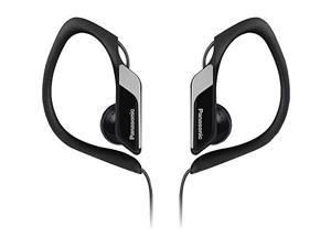 Panasonic Lightweight Water-resistant Sweat-proof Active Sport Headphones (Black)
