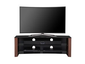 Fitueyes Wooden Tv Stand for 32-58 Inch Oled Flat Screen Curved Tv Stand