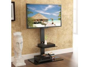 "Fitueyes TV Stand with Swivel Mount component Shelf for 32""-65"" inch Samsung , VIZIO , LG , Panasonic , LG Flat Screen Tvs"