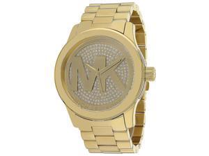 Michael Kors MK5706 Women's Runway Gold Stainless Steel Watch