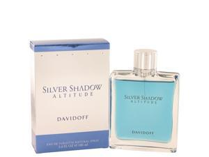 Silver Shadow Altitude by Davidoff Eau De Toilette Spray for Men (3.4 oz)