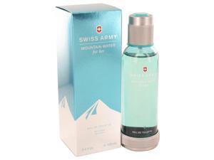 Swiss Army Mountain Water by Swiss Army Eau De Toilette Spray for Women (3.4 oz)