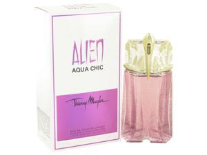 Alien Aqua Chic by Thierry Mugler Light Eau De Toilette Spray for Women (2 oz)