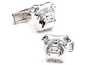 Sterling Bulldog Cufflinks