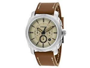 Fossil Machine FS5131 Men's Stainless Steel Analog Watch Chronograph