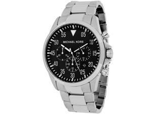 Michael Kors MK8413 Men's Gage Silver Stainless Steel Watch with Chronograph