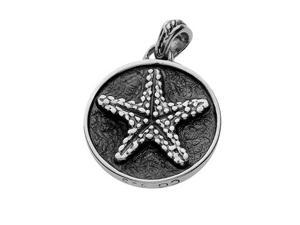 Sterling Silver Sunshine Starfish Charm by Cynthia Gale