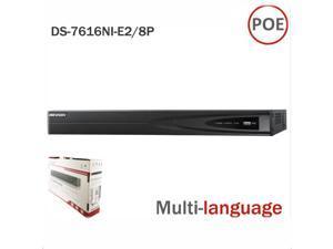 Hikvision NVR DS-7616NI-E2/8P 16CH 8PoE New Model Original English International version NVR Network Video Recorder