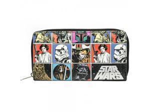 Star Wars Large Zip Around Wallet