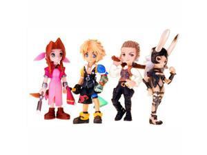 Final Fantasy Trading Arts Mini Vol 3 4 Pack Figures Set