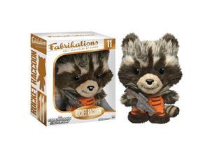 Guardians Galaxy Rocket Raccoon Fabrikations Plush Figure