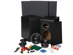 "Dayton Audio BR-1 6-1/2"" 2-Way Bookshelf Monitor Speaker Kit 300-640"