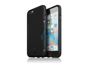 Patchworks® ITG Level Pro Case with Card Pocket Black for iPhone 6s 6 - Military Grade Protection Case with a Card Pocket, Extra Protection for ITG Tempered Glass Screen Protector