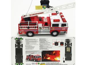 NEW Super Express Battery Operated Remote Control RC Fire Truck BIG Sized Ready