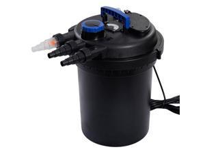 10,000 Liter Per Hour Koi Pond Pressure Bio Filter UV Sterilizer