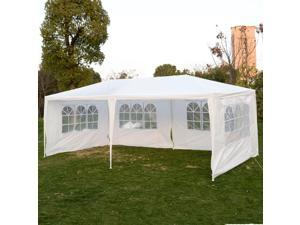 Wedding Party Tent Outdoor 10'x20' Easy Set Gazebo BBQ Canopy Cater Events White