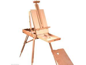 Wooden Sketch Box Portable Folding Art Artist Painters Tripod French Easel