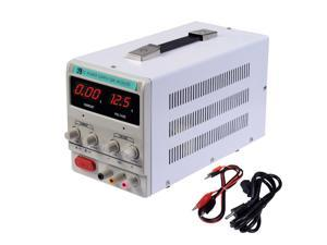 30V 10A 110V Precision Variable DC Power Supply Digital Adjustable w/Clip Cable