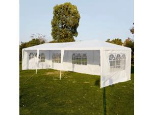 Wedding Party Tent Outdoor 10'x30' Easy Set Gazebo BBQ Canopy Cater Events White