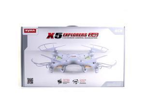Syma X5 4 Channel 2.4GHz RC Explorers Quad Copter Helicopter Toy