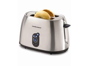 Hamilton Beach Toaster |22502C| 2-Slice, Brushed Chrome