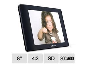 "Veho VPA-001-QUDO 8"" 800 x 600 Qudo Digital Photo Album Viewer"