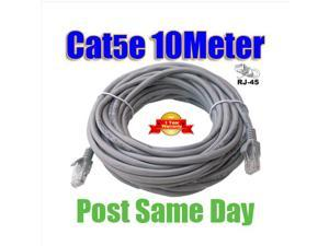 10M 30FT RJ45 Cat5e Cat 5e Cat5 Ethernet Network LAN Patch Cable Lead