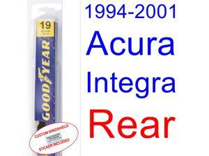 1994-2001 Acura Integra Wiper Blade (Rear) (1995,1996,1997,1998,1999,2000)