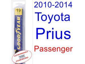 2010-2014 Toyota Prius Wiper Blade (Passenger) (2011,2012,2013)