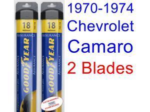 1970-1974 Chevrolet Camaro Replacement Wiper Blade Set #47;Kit  #40;Set of 2 Blades #41;  #40;Goodye