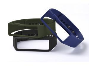 Nuband Activ+ 3 Packs Men's Replacement Bands - Gray/Blue/Green
