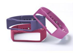 Nuband Activ+ 3 Packs Women's Replacement Bands - Pink/Purple/Red