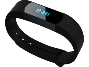 Nuband Evolve Multi-Sport Activity and Sleep Tracker Fitness Band - Black