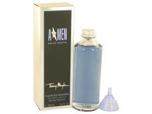 ANGEL by Thierry Mugler EDT Eco Refill Bottle  Men 3.4 oz