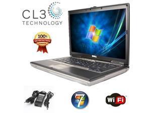 Dell Laptop Latitude D820 C2D 15.4' LCD DVD/CDRW Windows 7 Pro WiFi Comnputer + 4GB RAM