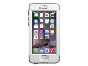 LifeProof iPhone 6 4.7screen Case- Nuud Series - Avalanche (Bright White/ Cool Gray)
