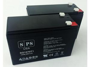 SPS BRAND  12v 7Ah Replacement Battery for Compaq Compaq UPS   (2 PACK)