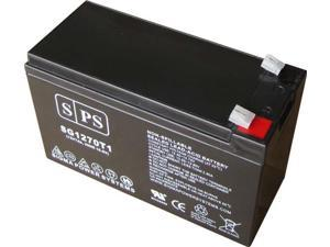 SPS BRAND  12v 7Ah Replacement Battery for Unisys SMT 280 B UPS