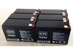 SPS BRAND  12v 7Ah Replacement Battery for Compaq Compaq UPS   (6 PACK)